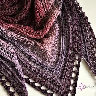 Secret Paths Shawl by Mijo Crochet