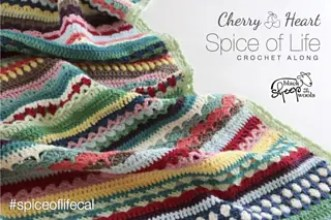 Spice of Life Blanket free crochet pattern by Cherry Heart