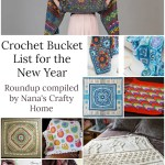 Crochet Bucket List for the New Year!