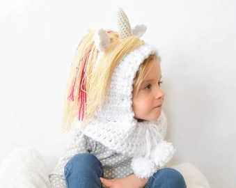 Free Unicorn crochet pattern roundup compiled by Nana's Crafty Home