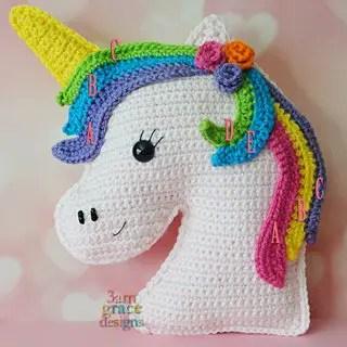 Unicorn Kawaii Cuddler by 3amgracedesigns
