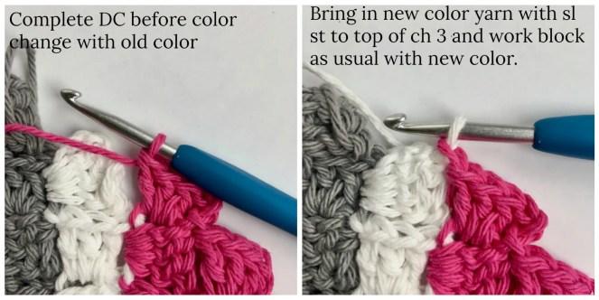 Guide to Corner to Corner (C2C) crochet technique Photo and Video Tutorial