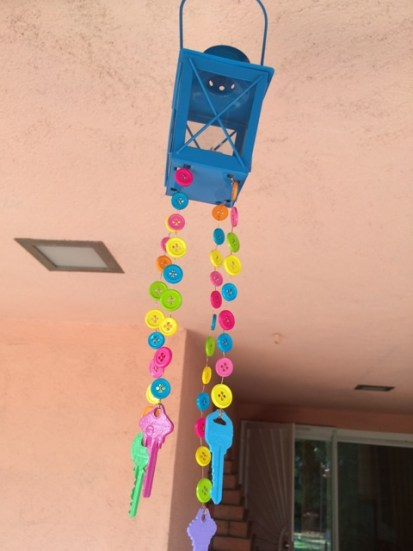 keys wind chimes