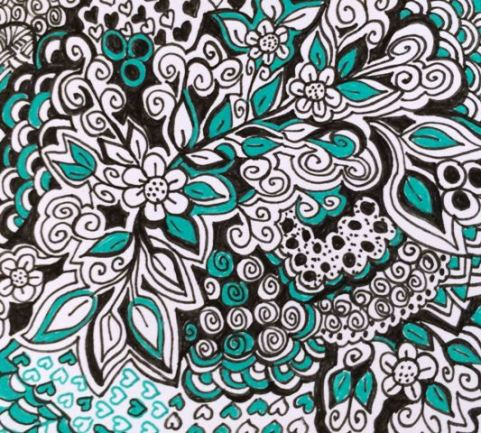 turquois-doodle-a