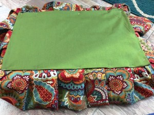 back of cushion