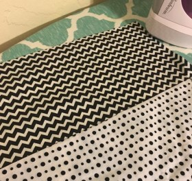 chevron and dots