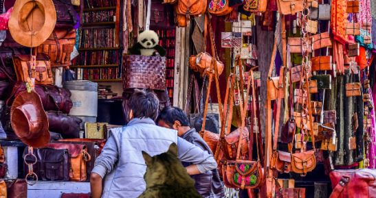 spying in market