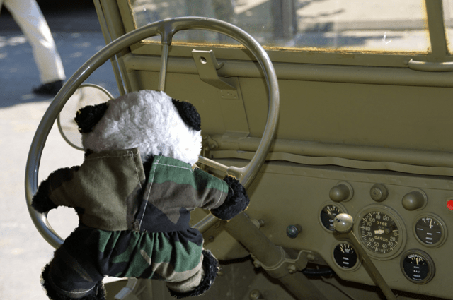 basic panda steering jeep
