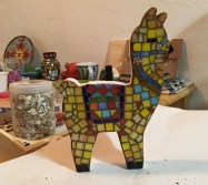 llama grouted