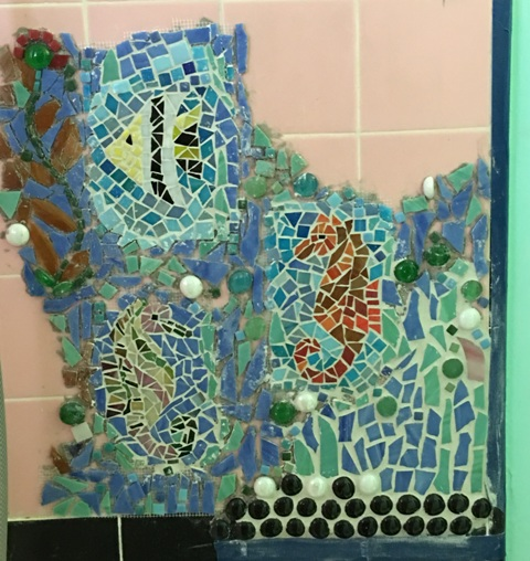 three grouted