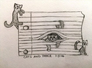 cats and aper