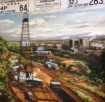 oilfield mural
