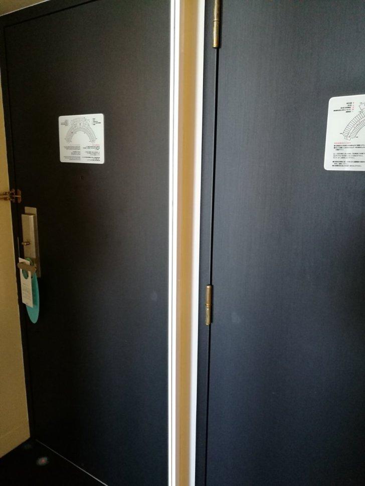 1045号室 セレブリオ ツインルーム パークビュー クローゼット02