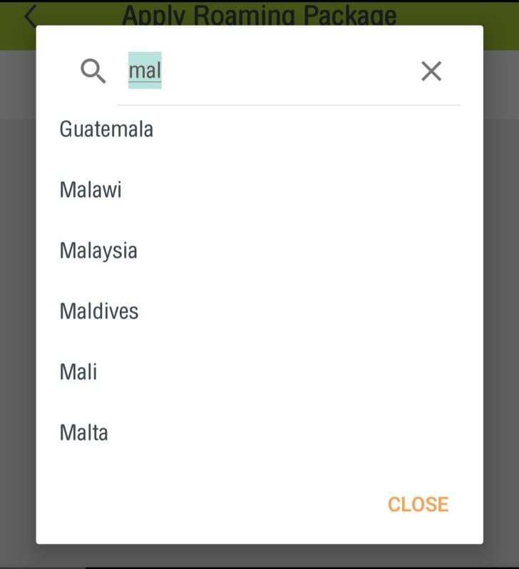 タイ隣国用パッケージ「Border Countries」アプリ購入方法6