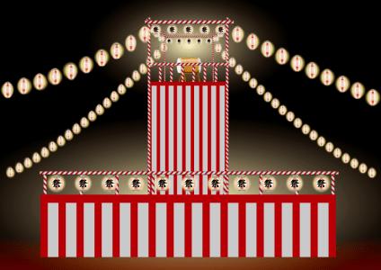 祭の晩-宮沢賢治-イメージ
