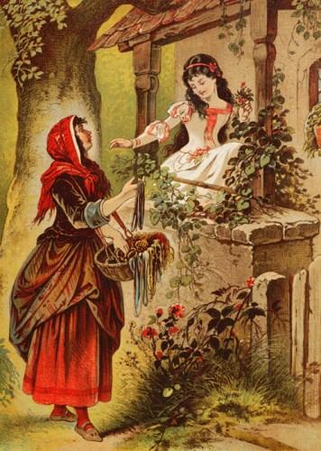 白雪姫-グリム童話-イメージ