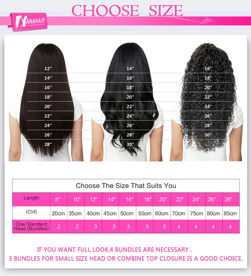 Virgin Brazilian Hair Bundles