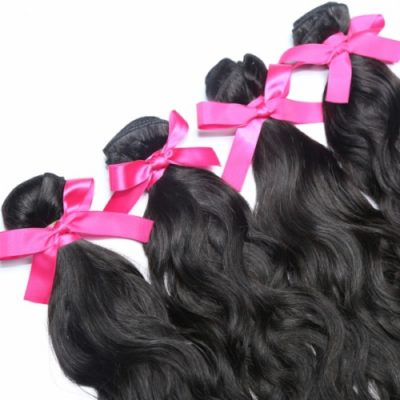 Indian natural wave hair extensions