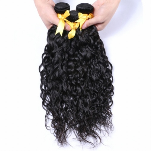 8a premium virgin hair Brazilian natural wave with closure