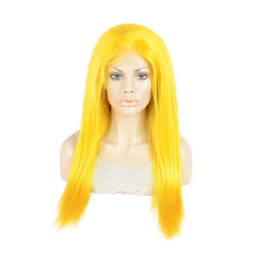 Top quality human lace wig Indian full lace
