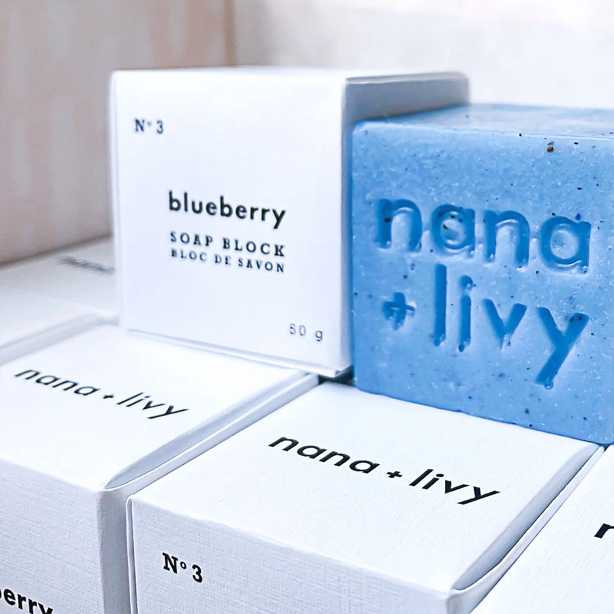 Blueberry Soap Block