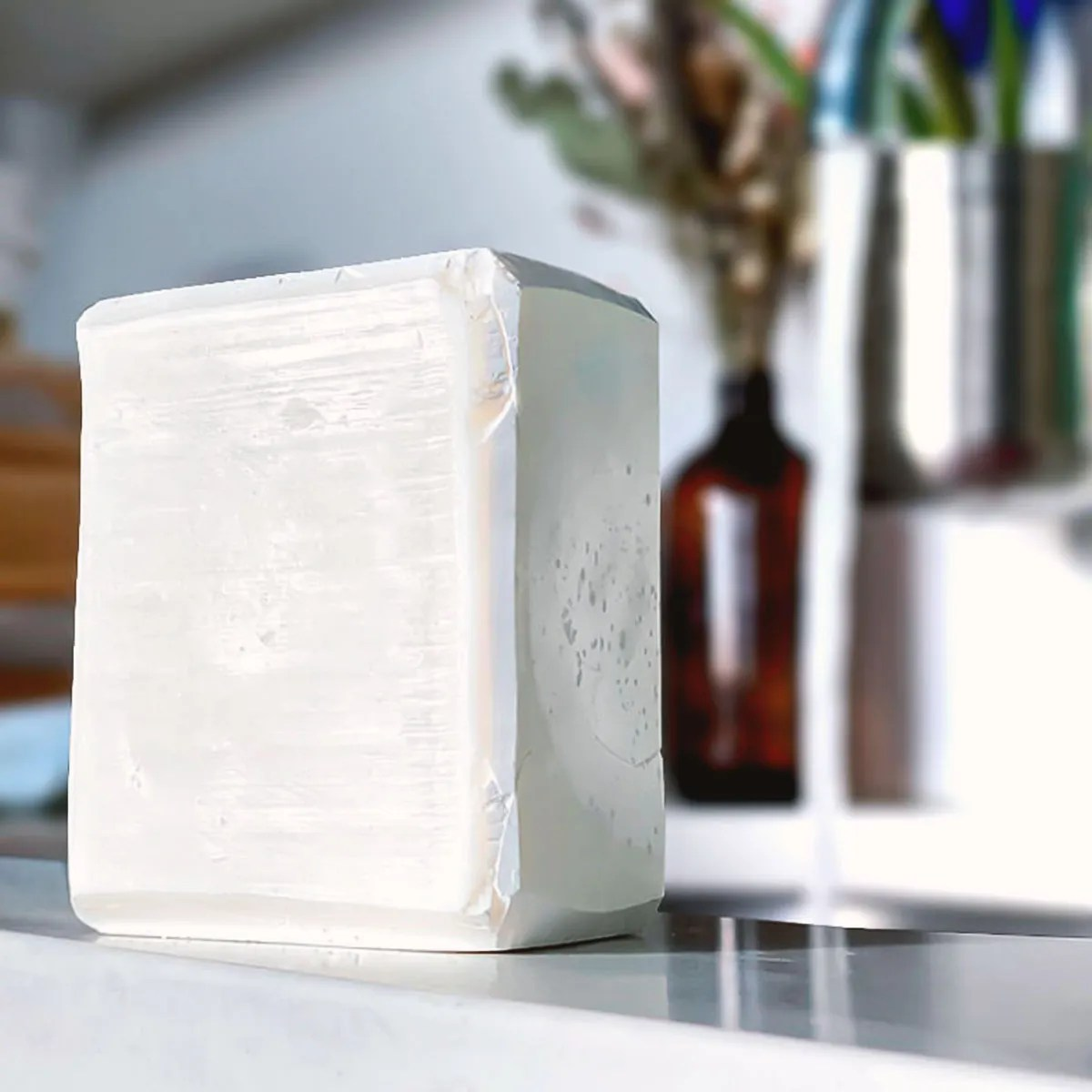 Unscented Wash Block by sink