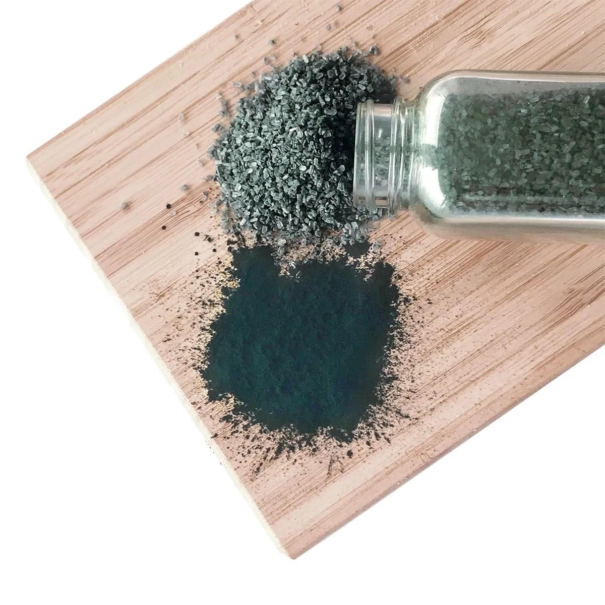 charcoal bath salts