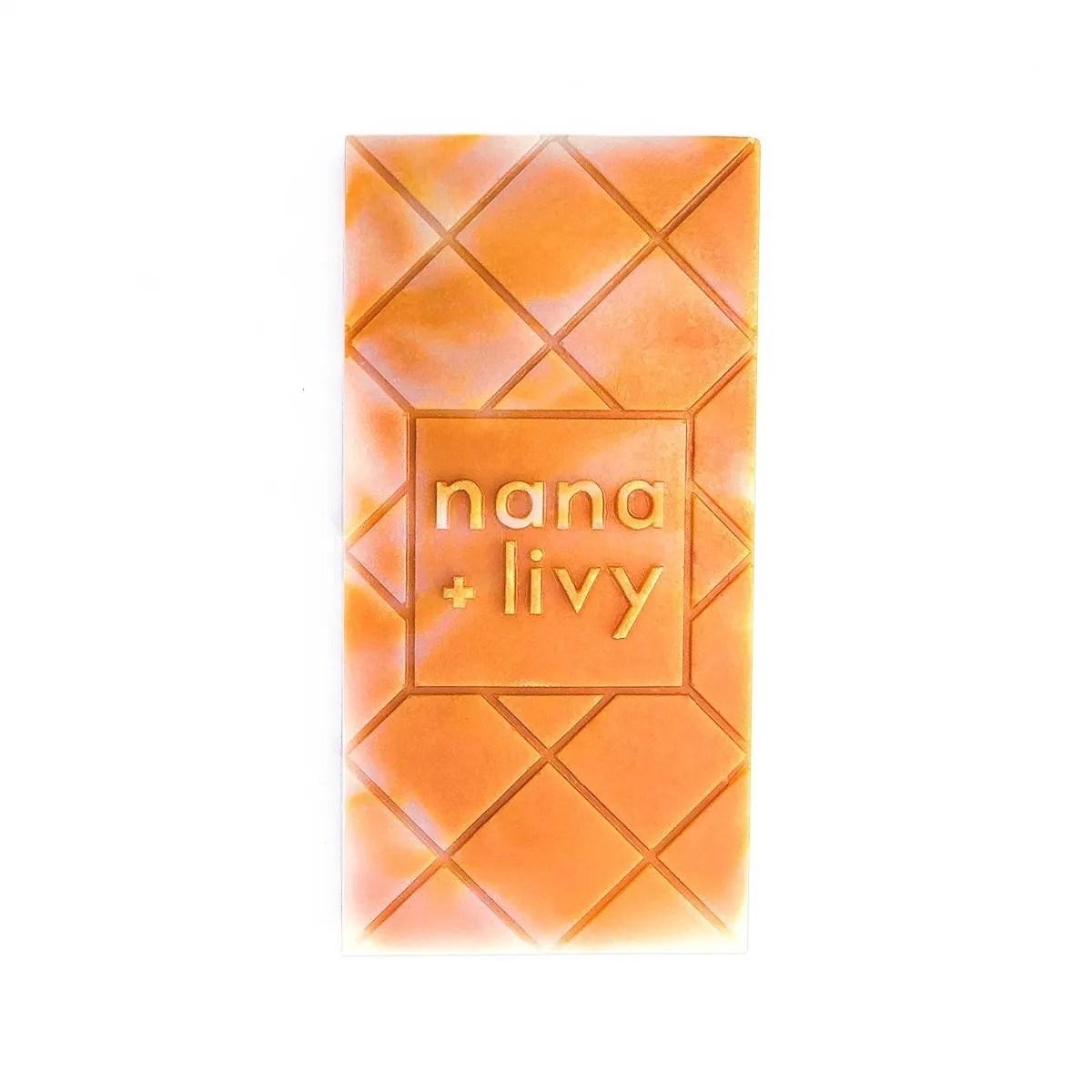 mango choco soap