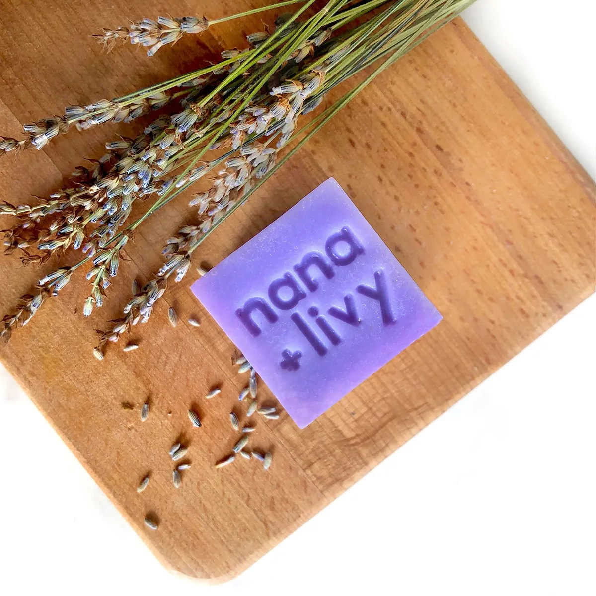 Lavender Soap Block