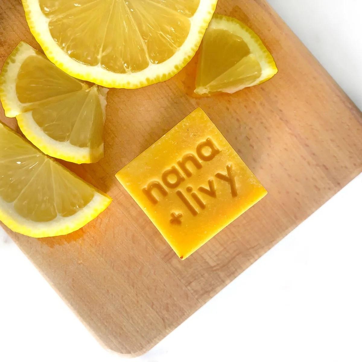 Lemon Soap Block