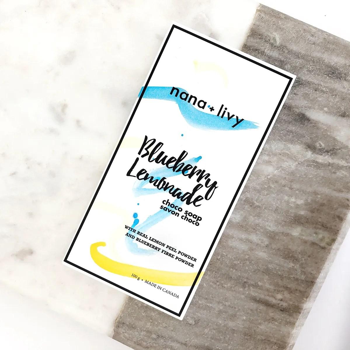 Blueberry Lemonade Choco Soap