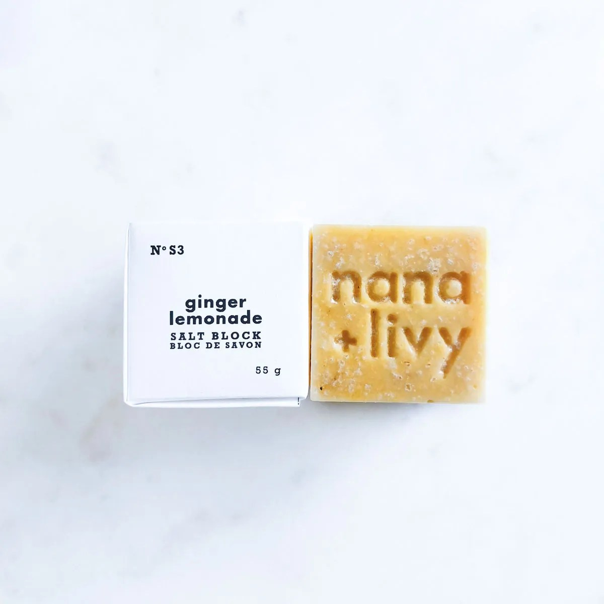 Ginger Lemonade Salt Block