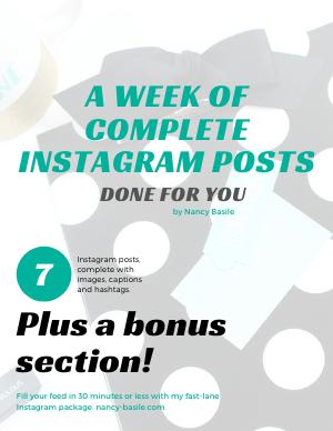 7 Days of Complete Instagram Posts