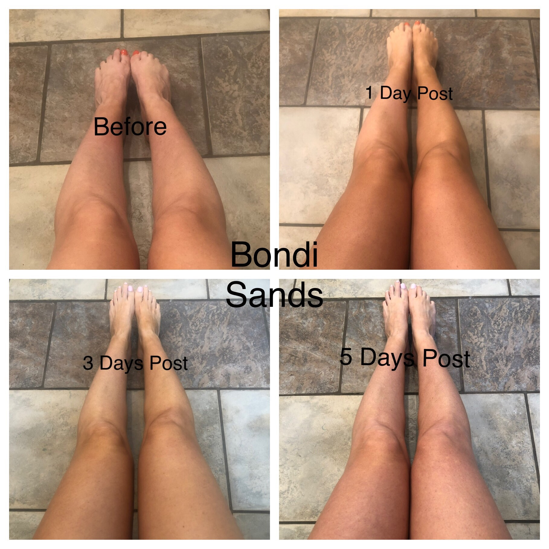 Bondi Sands Post Tan Pictures