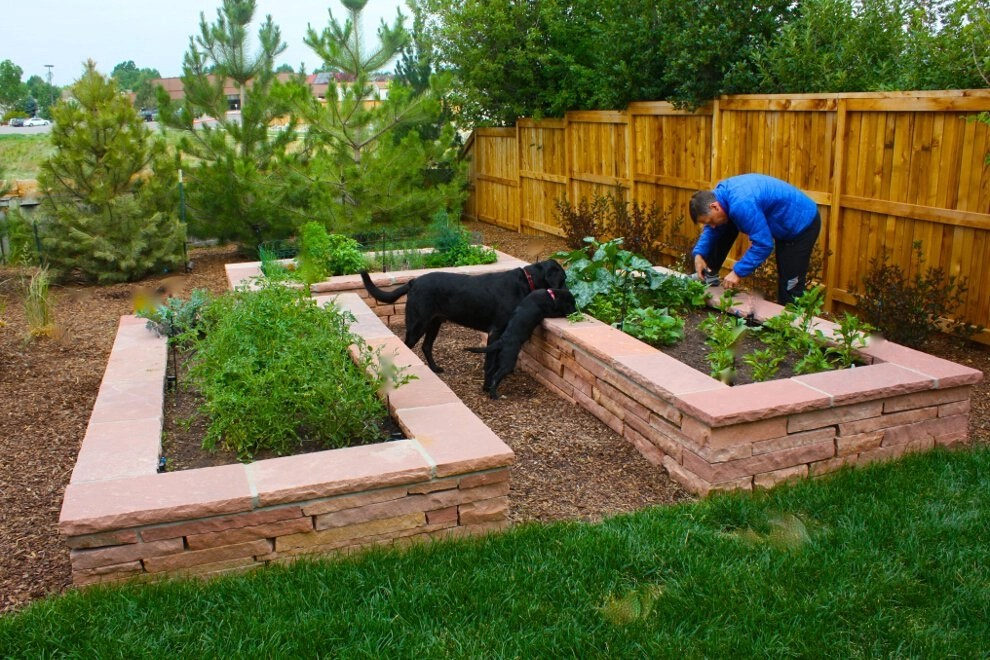 Baldwin Residence - Raised Bed Planters