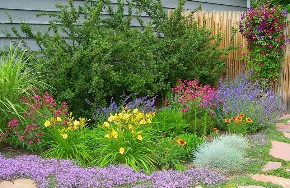 Perennial Side Garden