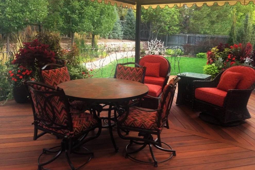 Jardine Residence - Patio Seating