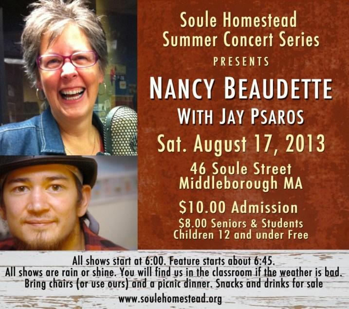 Soule Homestead Concert Series