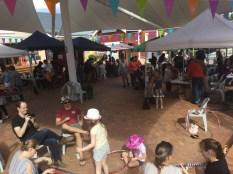 Hula hoop making Artbeat festival