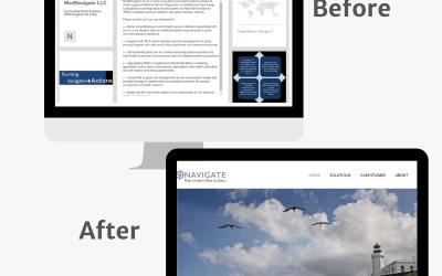Developing a Brand Identity & Website: Case Study
