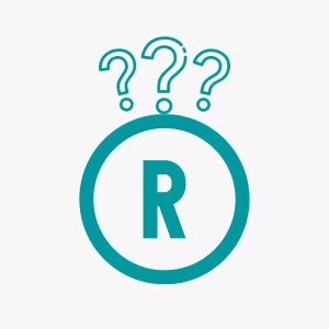 registered trademark with question marks
