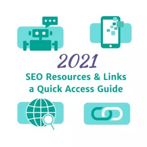SEO reources and links: a quick access guide