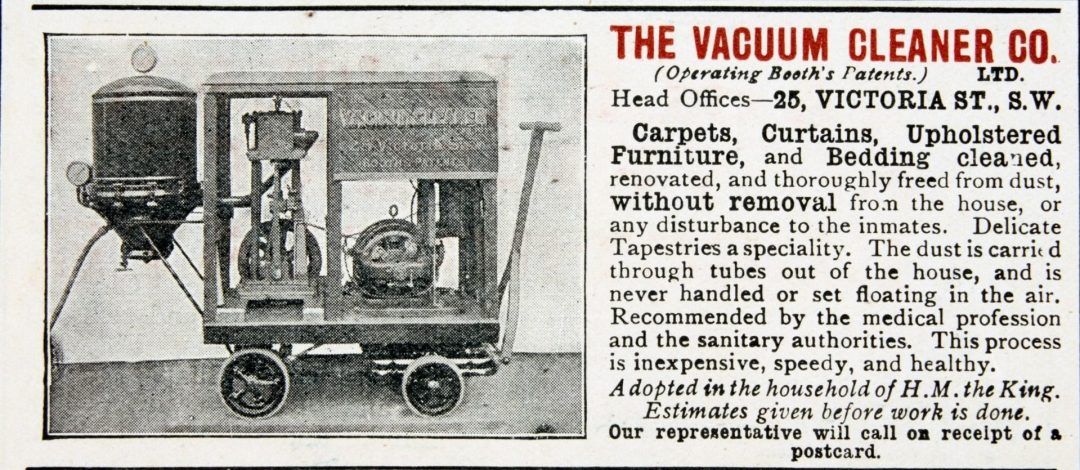 The vacuum cleaner co a traditional ad
