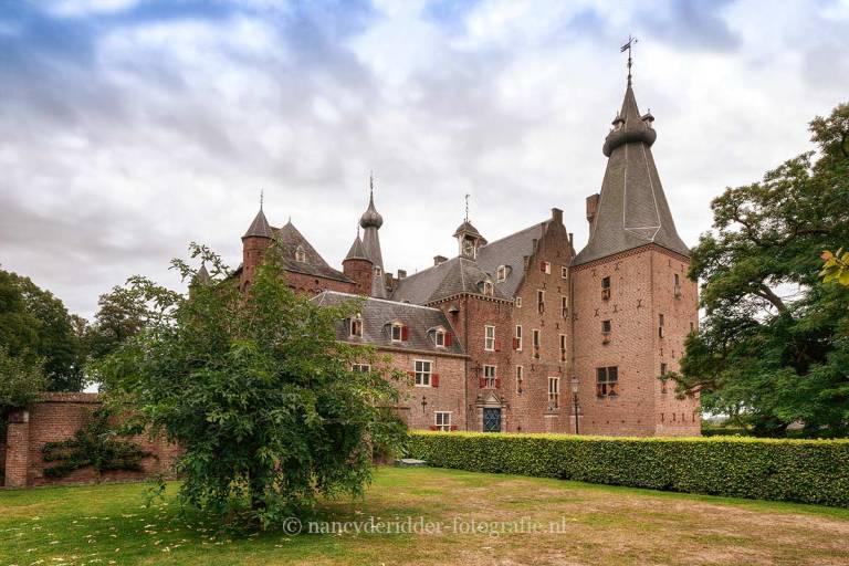 kastelen, kasteel Doorwerth, sprookjesachtig
