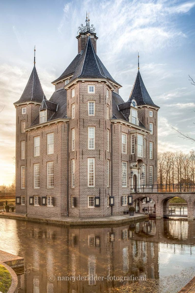 kastelen, kasteel heemstede, loopbrug