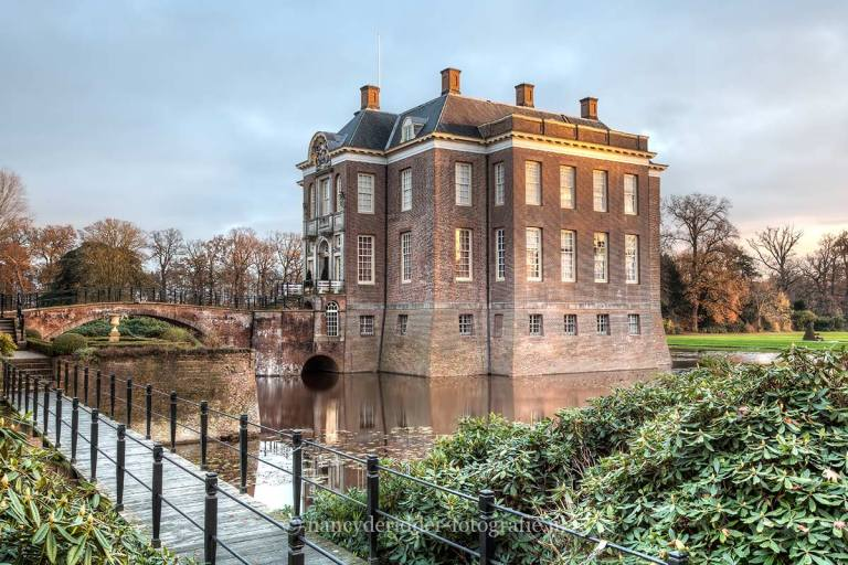 kastelen, kasteel Middachten, Gelderland