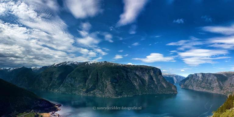 Noorwegen, fjorden, reizen, aurlandsfjord