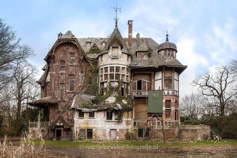 Chateau Nottebohm, urbexlocatie
