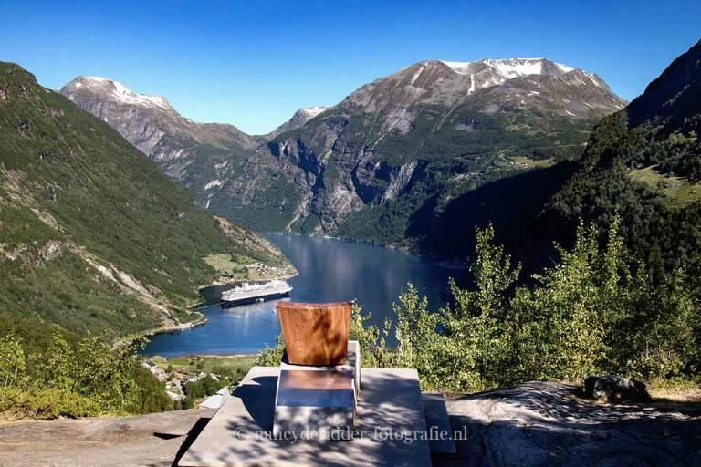 Noorwegen, fjorden, reizen, Flydalsjuvet