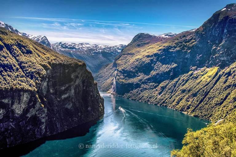 Noorwegen, fjorden, reizen, Geirangerfjord
